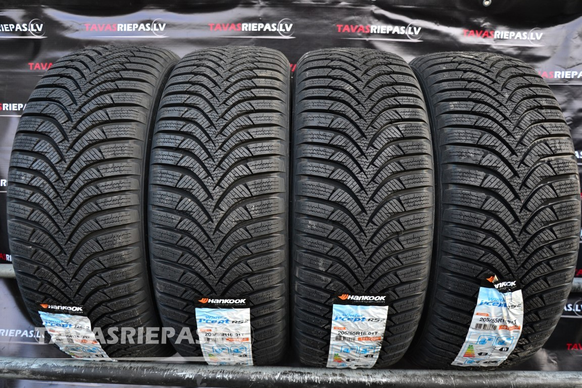 Tires Hankook Winter I Cept Rs2 W452 205 55 R16